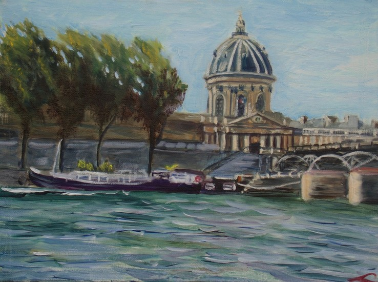 Seine embankments