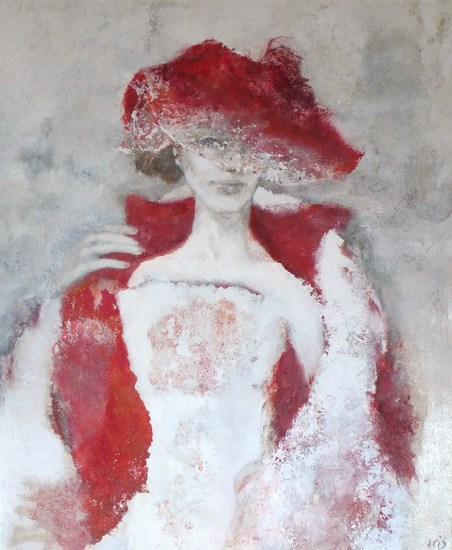 Lady in red (SOLD)