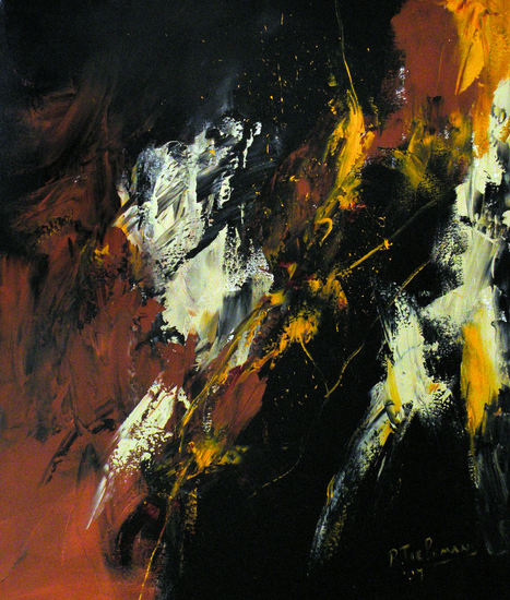 Abstract 1, acrylverfschilderij