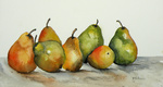 Aquarel, fruit