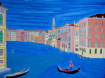 A selection of paintings inspired by world cities such as Venice, Amsterdam etc.