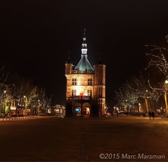 Deventer waag @ Night.