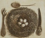 A series of small etchings with the egg as a theme. All etchings are printed by hand with a maximum of 50 issues on 300 gram hand-made acid-free etching paper.