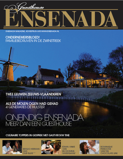 Magazine Ensenada, 4 sterren bed & breakfast