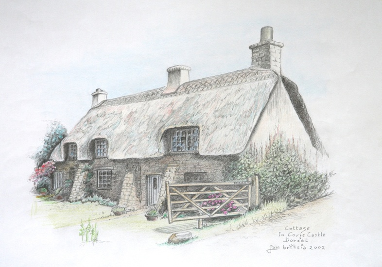 Cottage in Corfe Castle 2