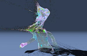 3D objects in pointcloud