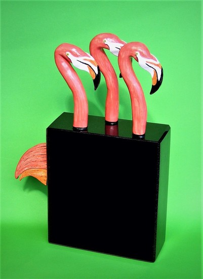 Flamingotrio