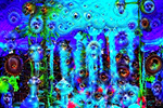 Hallucinatory digital art