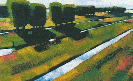 Uitgelezene Willem Visser - Figuratief schilder VN-24