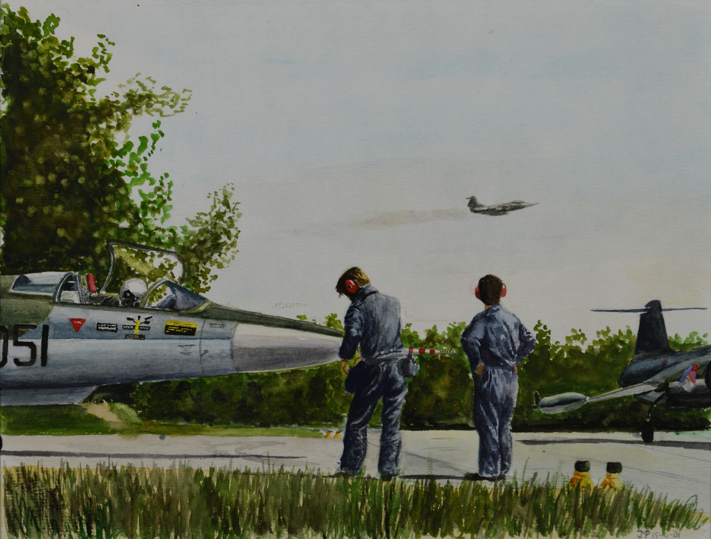 Starfighters op Volkel