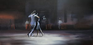 a collection of paintings inspired by the Argentinian Tango