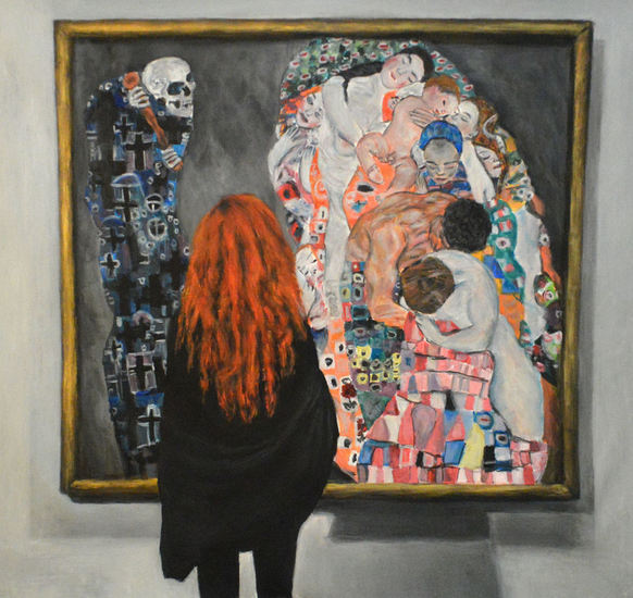 Watching Klimt, ( Death and Life)