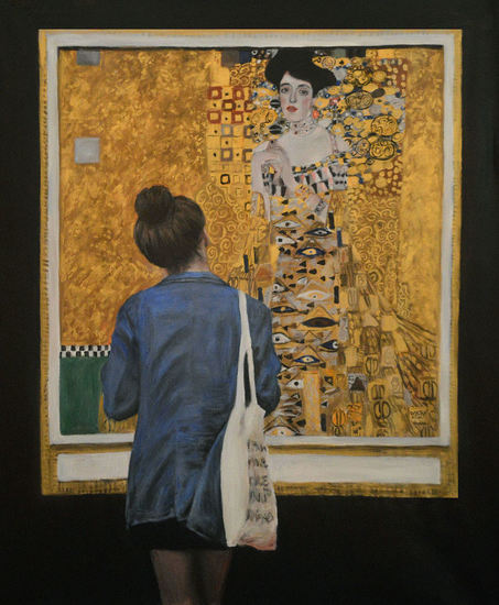 Watching Klimt Woman in Gold Portrait of Adele Bloch-Bauer I