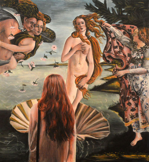 Watching The Birth of Venus ( Botticelli)