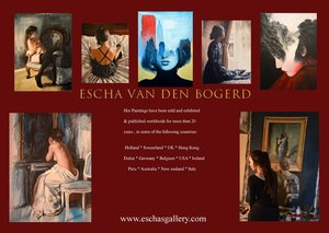 Nude paintings and figure paintings for sale by dutch artist escha van den bogerd. Nude commission paintings from photos also available,contact me for more information, Naakt schilderijen en figuratieve schilderijen te koop.